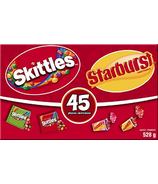 Skittles and Starburst Fun Size Candy
