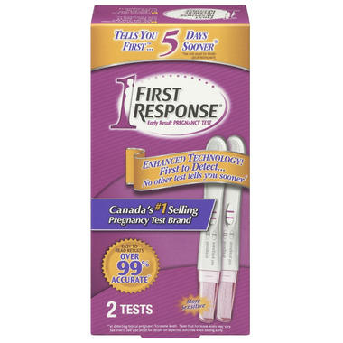First Response Early Result Pregnancy Tests