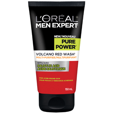 L\'Oreal Paris Men Expert Pure Volcano Red Wash