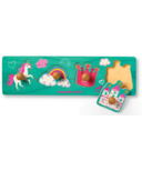 Crocodile Creek Wood Knob Puzzle Princess