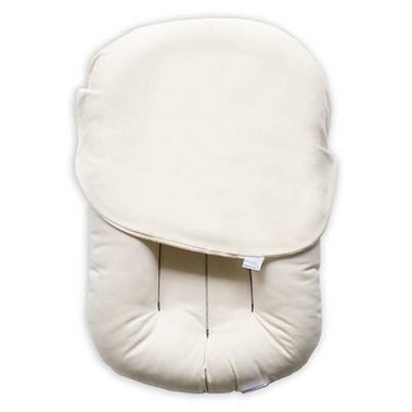 Snuggle Me Organic Lounger with Cover Natural