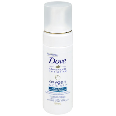 Dove Advanced Hair Series Oxygen Moisture Leave-In Foam Mousse