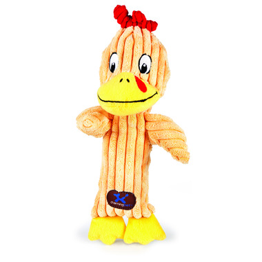 Charming Pet Products Tennis Head Chicken Dog Toy