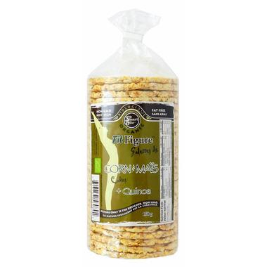 Smartbite Organic Fit Figure Corn Cakes + Quinoa