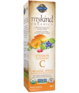 Garden of Life MyKind Organics Vitamin C Organic Orange-Tangerine Spray