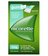 Nicorette Gum Nicotine Spearmint Flavour 4 mg