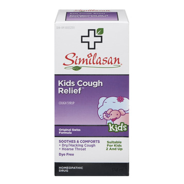 Similasan Kids Cough Relief Cough Syrup