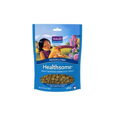 Halo Grain-Free Healthsome Cat Treats With Select Seafood Combo
