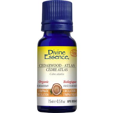 Divine Essence Atlas Cedarwood Organic Essential Oil