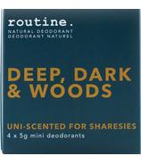 Routine Deep, Dark & Woods Minis Kit