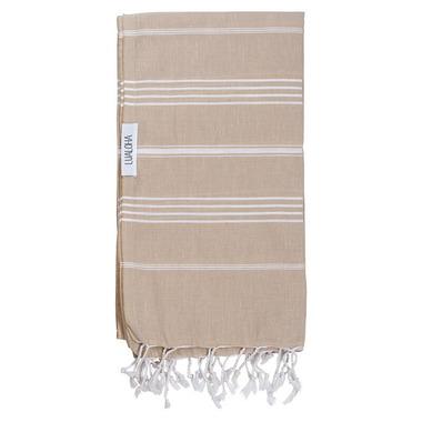 Lualoha Turkish Towel Classic Sand
