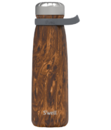 S'well Traveler Stainless Steel Wide Mouth Bottle Teakwood