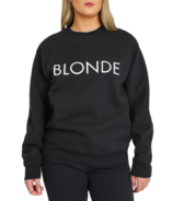 BRUNETTE The Label Blonde Core Crew Charcoal