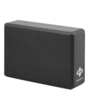 Halfmoon 4 Inch Foam Yoga Block Charcoal