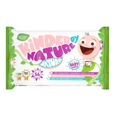 Jackson Reece Kinder By Nature Unscented Baby Wipes