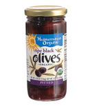Mediterranean Organic Ripe Pitted Black Olives