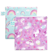 Bumkins Reusable Snack Bag Large Unicorn & Rainbows