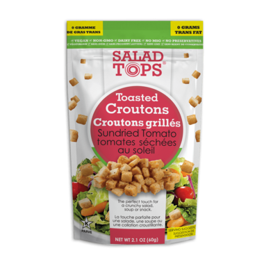Salad Tops Toasted Croutons Sundried Tomato