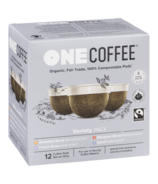OneCoffee Organic Single Serve Coffee Capsules Variety Pack
