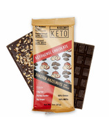Kiss My Keto Keto Chocolate Bark Toasted Hazlenut