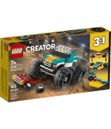LEGO Creator 3-in-1 Monster Truck Building Kit