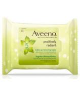 Lingettes démaquillantes Aveeno Positively Radiant