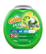 Gain Ultra Flings Liquid Laundry Detergent Pacs Large Loads Original Scent