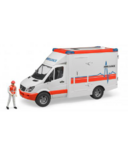 Bruder Toys Sprinter Ambulance with Driver