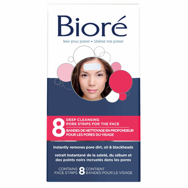 Biore Deep Cleansing Pore Strips for the Face