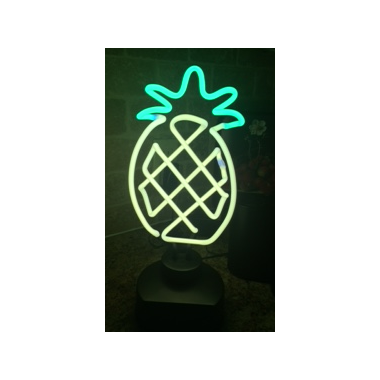 Amped & Co. Neon Pineapple Desk Light