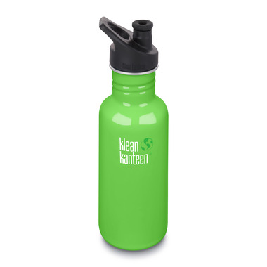 Klean Kanteen Classic Bottle with Sport Cap 3.0 Spring Green