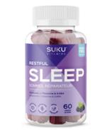 SUKU vitamines sommeil réparateur mûre hibiscus