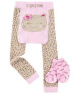 ZOOCCHINI Crawler Legging/Sock Set Kallie the Kitten