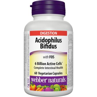 Webber Naturals Acidophilus With Bifidus & FOS