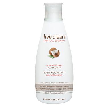 Live Clean Aromatherapy Foam Bath
