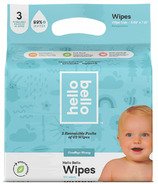 Hello Bello Baby Wipes Triple Pack