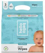 Lingettes pour bébé paquet triple Hello Bello