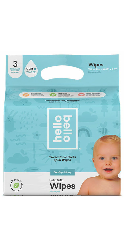 Buy Hello Bello Baby Wipes Triple Pack from Canada at Well ...