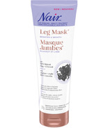 Nair Leg Mask With 100% Natural Clay + Charcoal