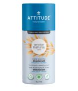 ATTITUDE Déodorant Sans Plastique Sans Parfum