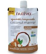 Nutiva Coconut Manna Almond