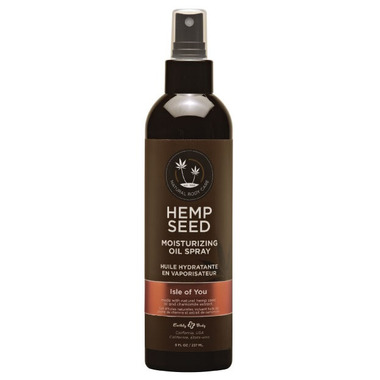 Earthly Body Hemp Seed Moisturizing Oil Spray Isle Of You