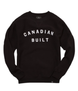 Peace Collective Canadian Built Crewneck Black