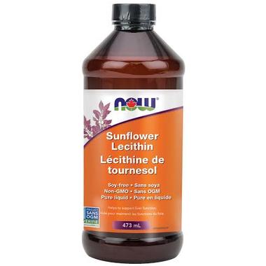 NOW Foods Sunflower Lecithin Liquid