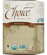 Choice Organic Teas White Peony Tea
