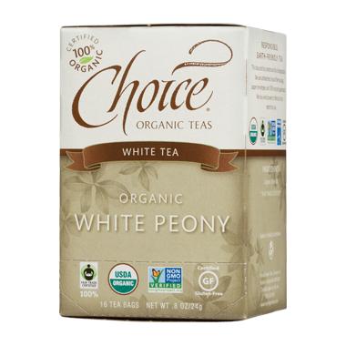 Choice Organic Teas White Peony Tea