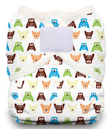 Thirsties Duo Wrap Hook & Loop Diaper Hoot