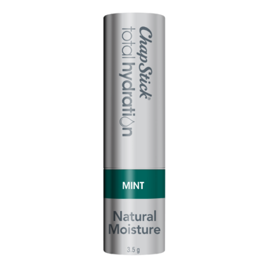 ChapStick Total Hydration Mint Lip Balm Tube Natural Moisture