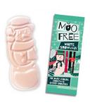 Moo Free White Snowman