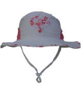 Calikids Bucket Hat with Heart White